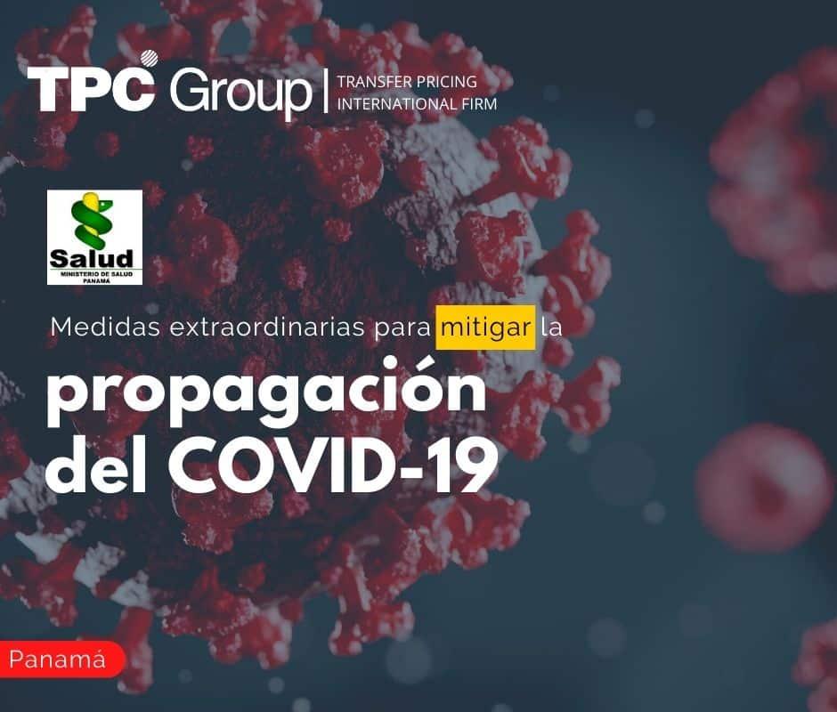 Medidas Extraordinarias para Mitigar la Propagación del Covid-19