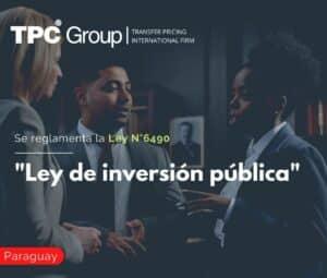 """Se Reglamenta la Ley N°6490, """"Ley de Inversión Pública"""""""