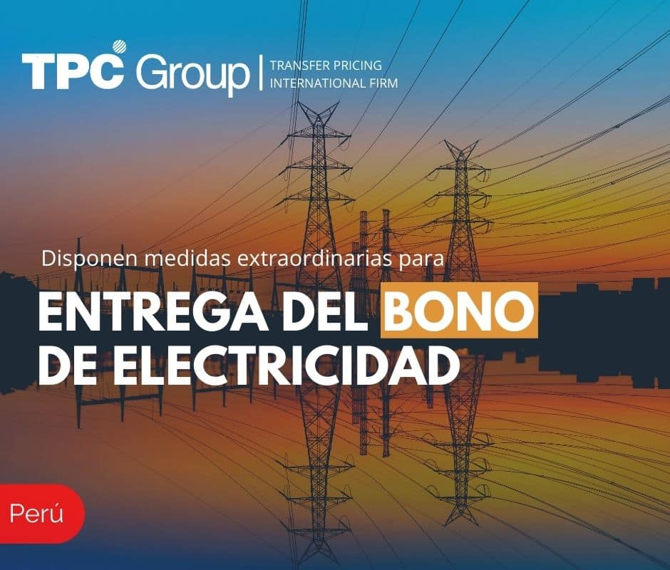 Disponen Medidas Extraordinarias para Entrega del Bono de Electricidad