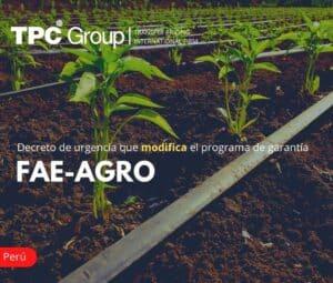Decreto de Urgencia que Modifica el Programa de Garantía FAE-AGRO