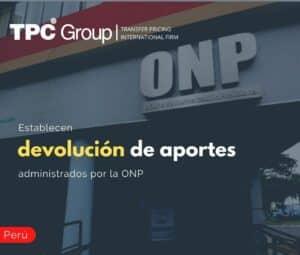 Establecen Devolución de Aportes Administrados por la ONP