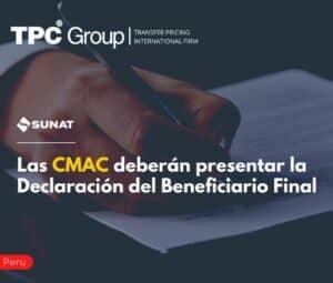 Las CMAC Deberán Presentar la Declaración del Beneficiario Final