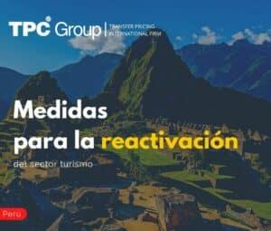 Medidas para la Reactivación del Sector Turismo