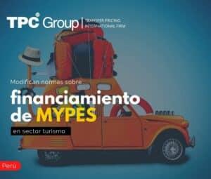 Modifican Normas sobre Financiamiento de Mypes en Sector Turismo