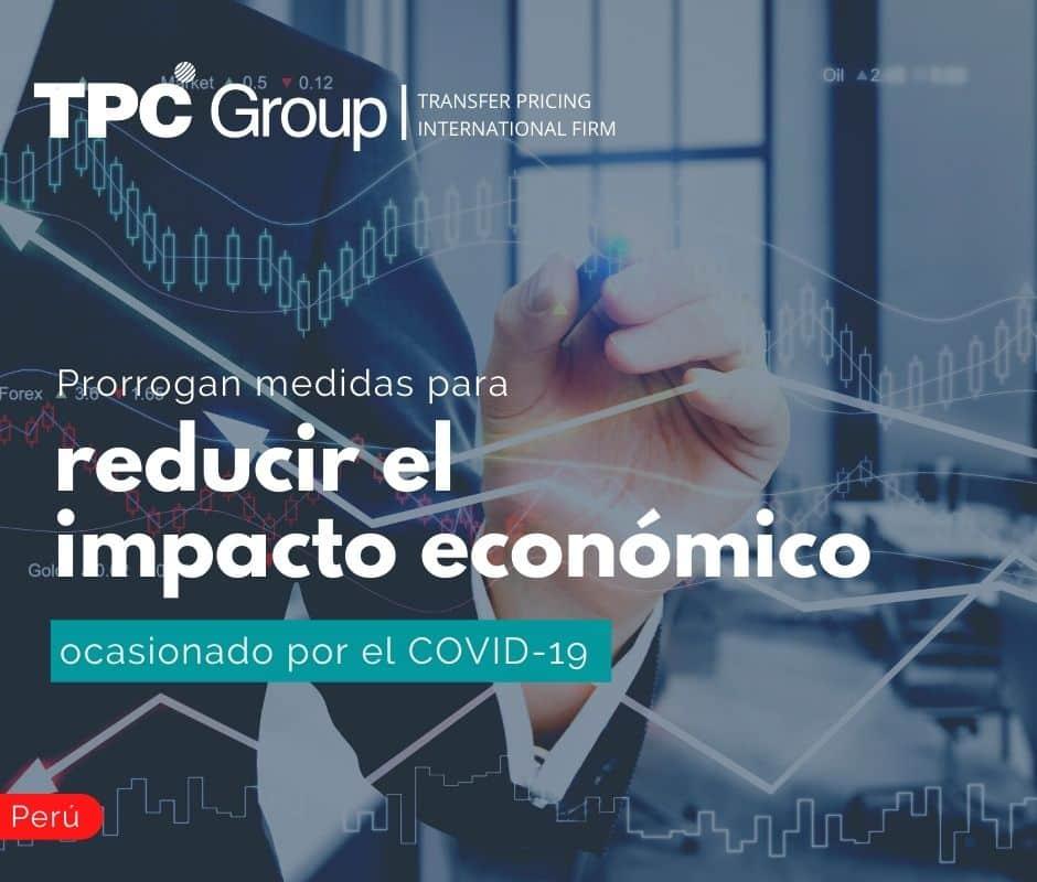 Prorrogan Medidas para Reducir el Impacto Económico Ocasionado por el Covid-19