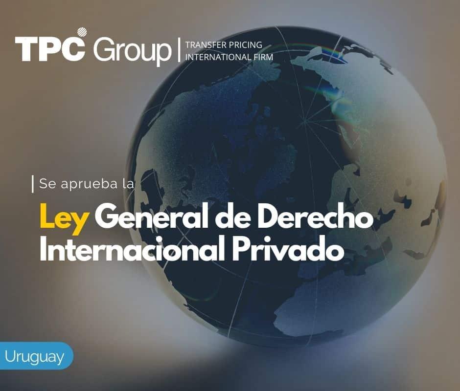 Se Aprueba la Ley General de Derecho Internacional Privado