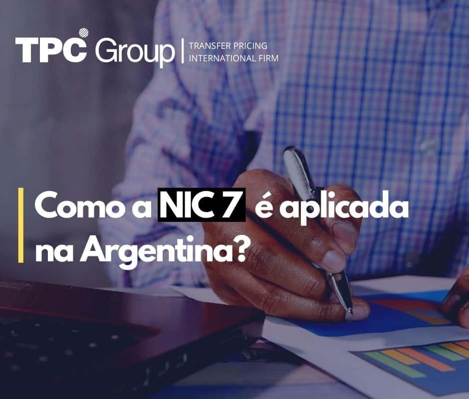 Como a NIC 7 é aplicada na Argentina?