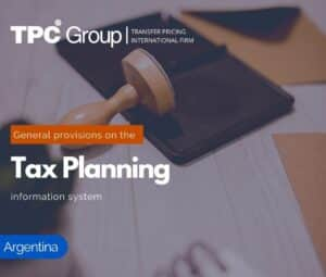 The Tax Planning Information System