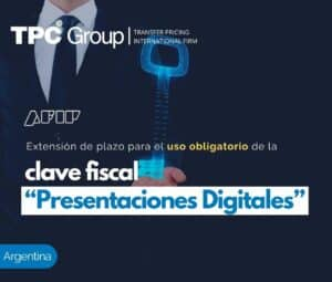 """Extensión de plazo para el uso obligatorio de la clave fiscal """"Presentaciones Digitales"""""""