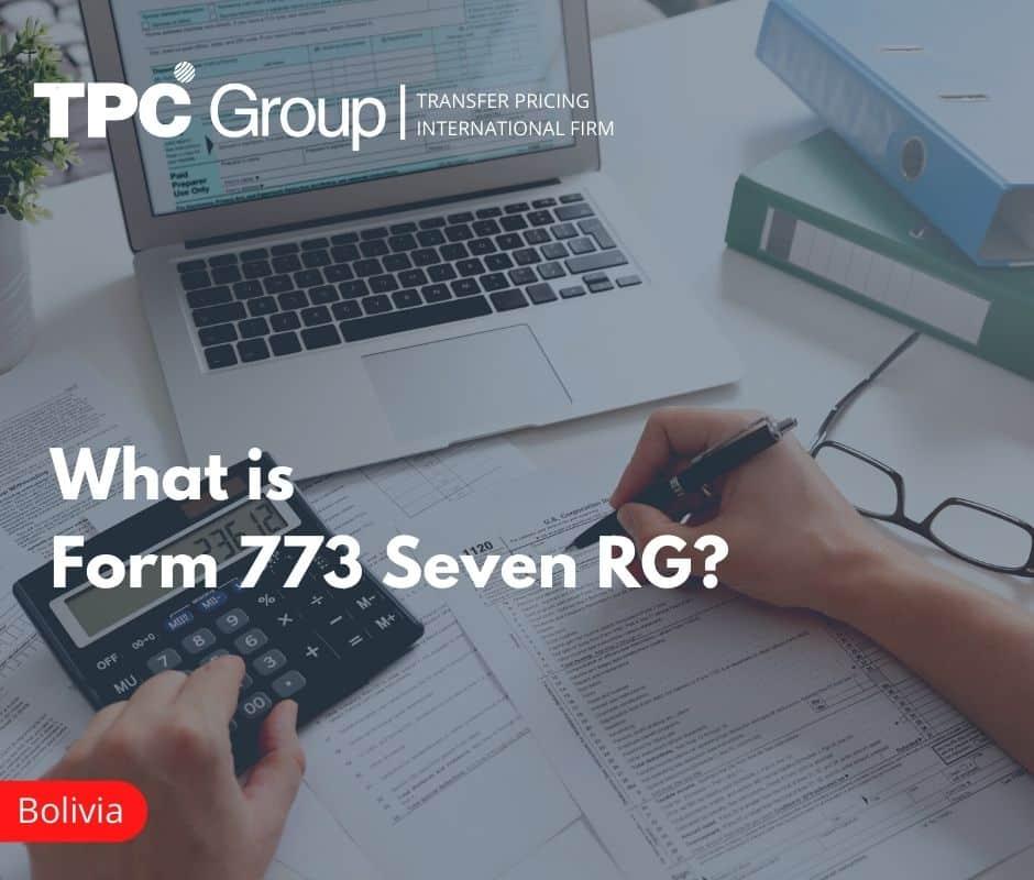 Form 773 - SEVEN RG