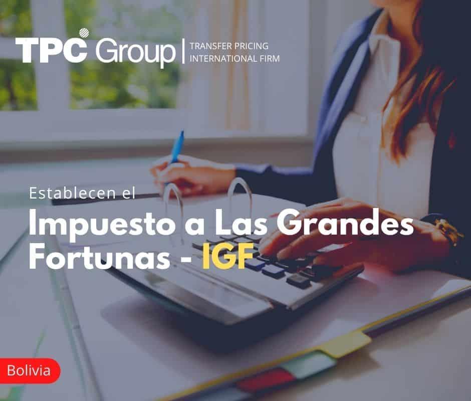Establecen el Impuesto a las grandes fortunas - IGF