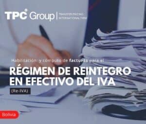 Habilitación y cómputo de facturas para el régimen de reintegro en efectivo del IVA (RE-IVA)