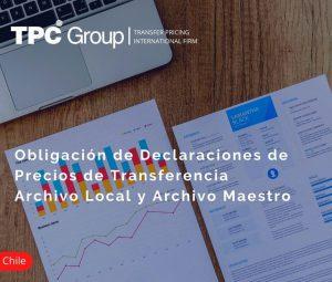Obligación de declaraciones de precios de transferencia en Chile