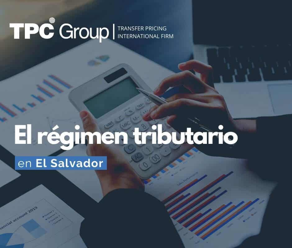 El régimen tributario en El Salvador