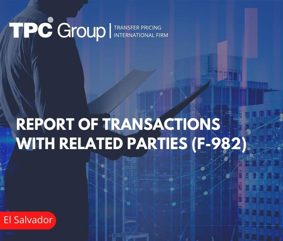 Report of transactions with related parties: Form 982
