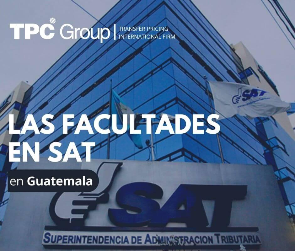 TPC Guatemala Las facultades en SAT en Guatemala