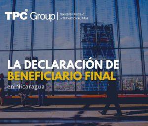 La declaración de Beneficiario Final en Nicaragua