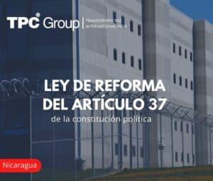 Ley de reforma del artículo 37 de la constitución política