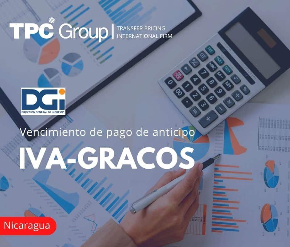 Vencimiento de pagos de anticipo IVA-GRACOS