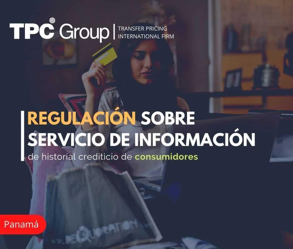 Regulación sobre servicio de información de historial crediticio de consumidores