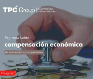 Prórroga sobre compensación económica de trabajadores suspendidos