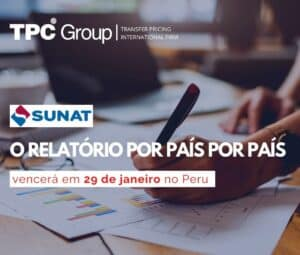 Relatório país por país, com vencimento no dia 29 no Peru