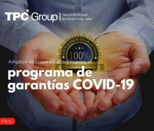 Amplían el plazo de acogimiento al programa de garantías COVID-19