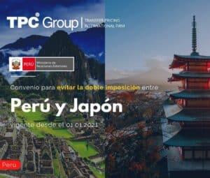 Convenio para evitar la doble imposición entre Perú y Japón vigente desde el 01.01.2021