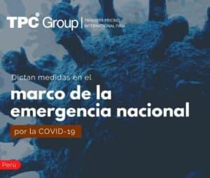 Dictan meiddas en el macro de la emergencia nacional por la COVID-19