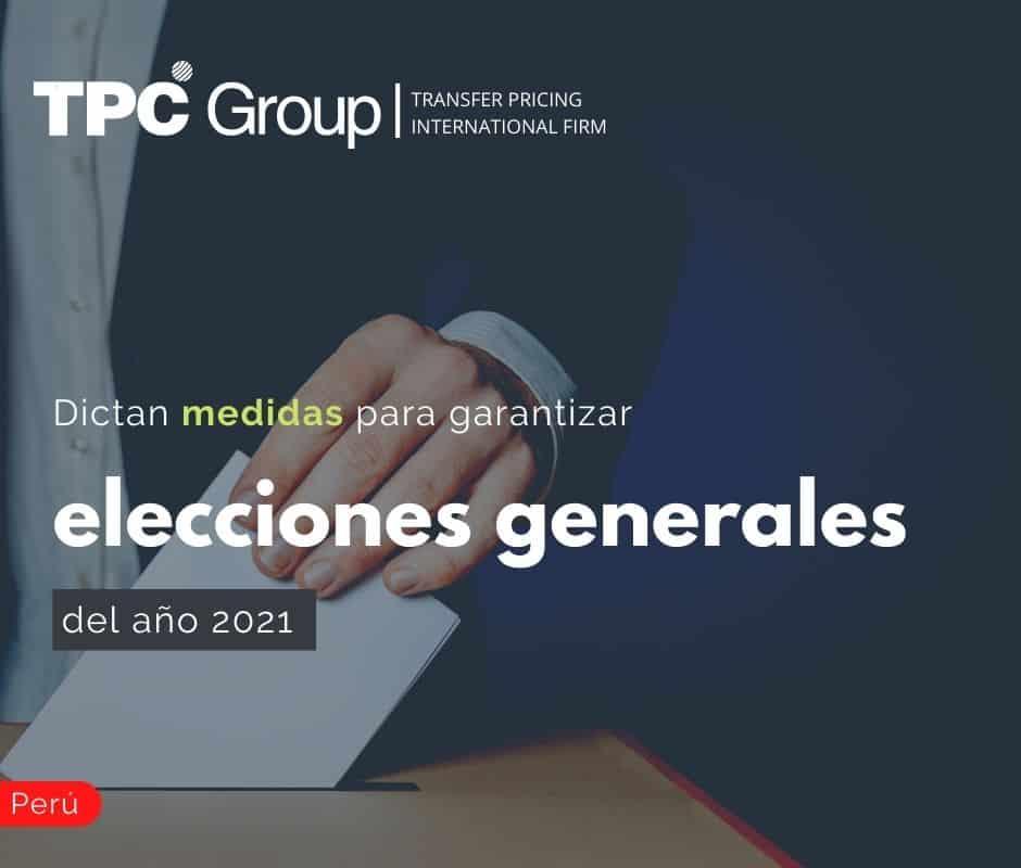 Dictan medidas para garantizar elecciones generales del año 2021