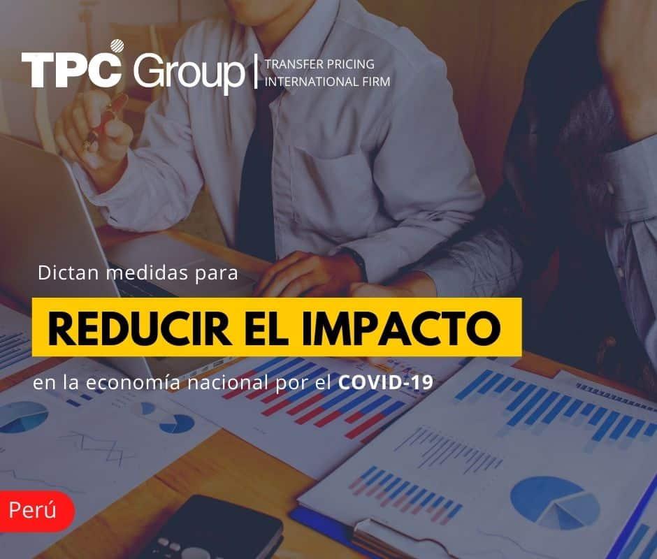Dictan medidas para reducir el impacto en la economía nacional por el COVID-19