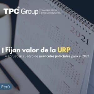Fijan valor de la URP y apruebas cuadro de aranceles judiciales para el 2021