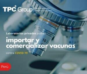 Laboratorios privados podrían importar y comercializar vacunas contra COVID - 19