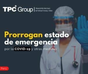 Prorrogan estado de emergencia por la COVID-19 y otras medidas