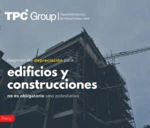 Régimen de depreciación para edificios y construcciones no es obligatorio sino potestativo