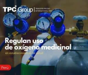 Regulan uso de oxígeno medicinal en establecimientos de salud
