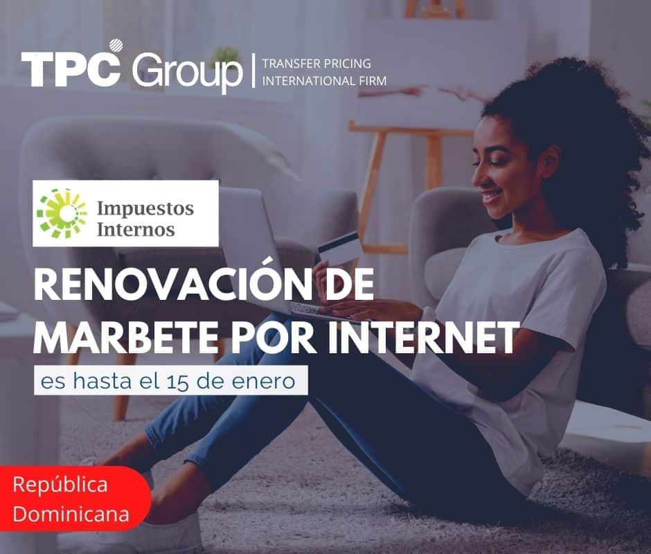 Renovación de marbete por internet es hasta el 15 de enero