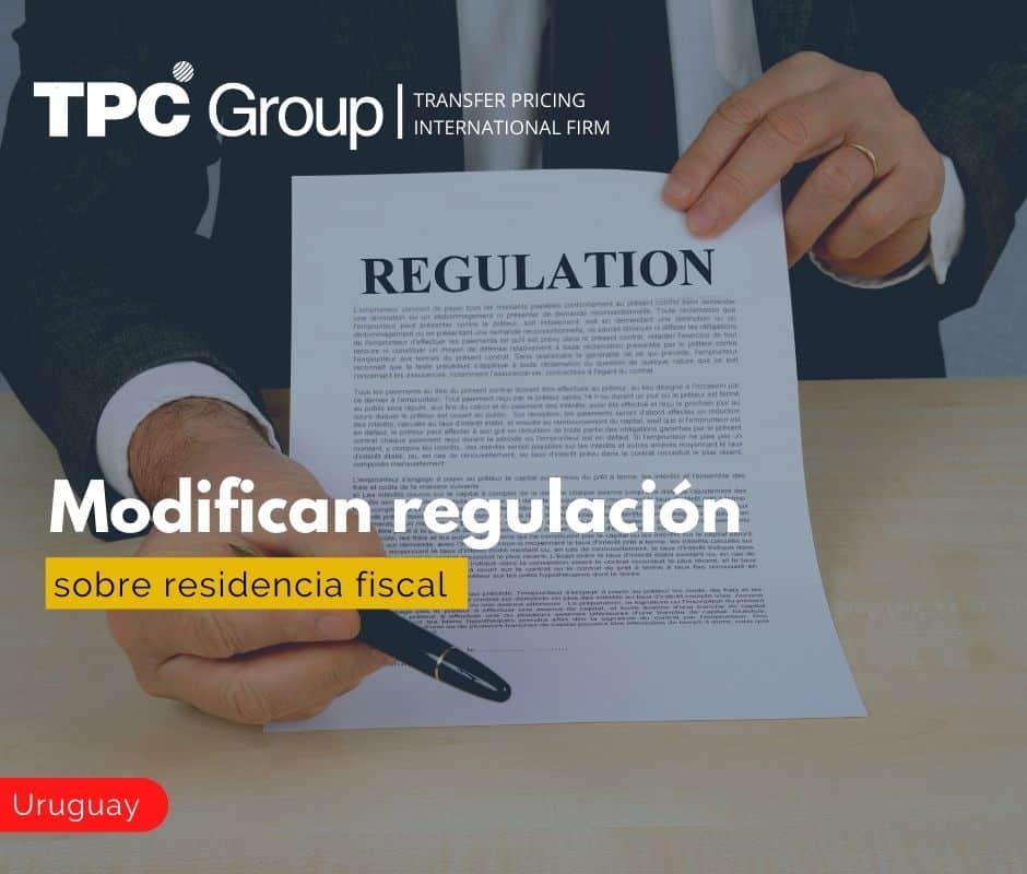 Modifican regulación sobre residencia fiscal