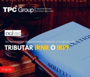 Se establecen disposiciones relativas a la opción de tributar IRNR o IRPF