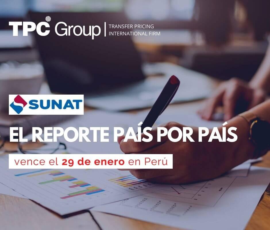 EL REPORTE PAÍS POR PAÍS VENCE EL 29 EN PERU
