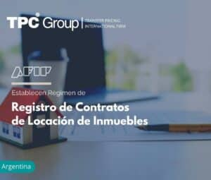 Establecen régimen de registro de contratos de locación de inmuebles