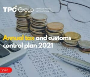 Annual Tax and Customs Control Plan 2021