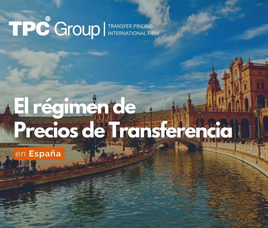 EL RÉGIMEN DE PRECIOS DE TRANSFERENCIA EN ESPAÑA