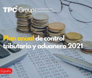 Plan anual de control tributario y aduanero 2021