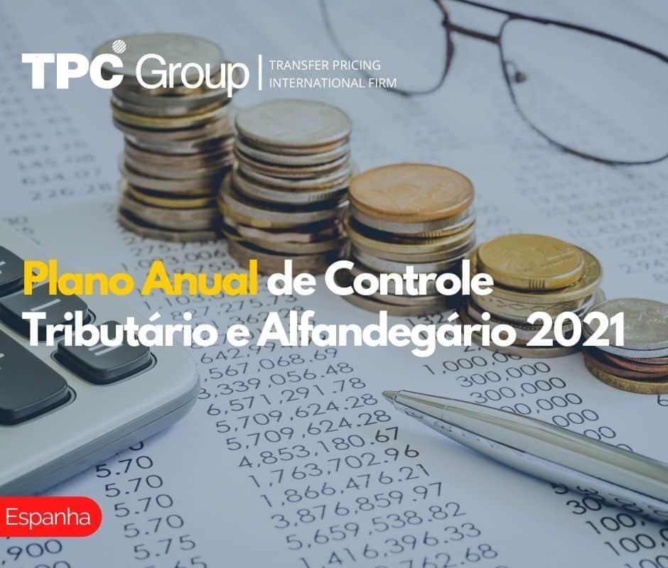Plano Anual de Controle Tributário e Alfandegário 2021