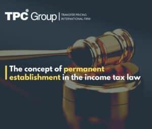 Permanent Establishment In LIR Peru