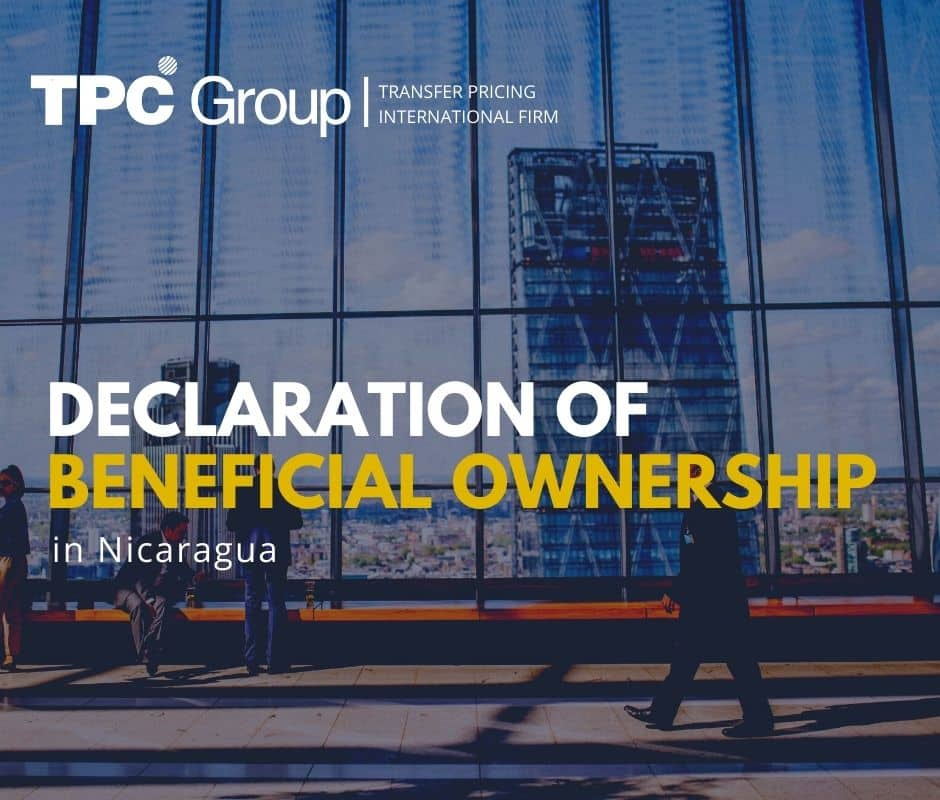Declaration of beneficial ownership in Nicaragua