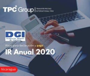 Plazo para declaración y pago del IR Anual 2020