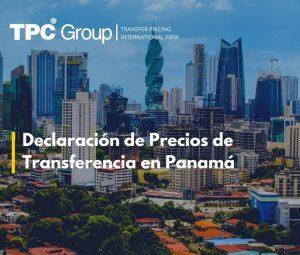 Declaración de precios de transferencia en Panamá