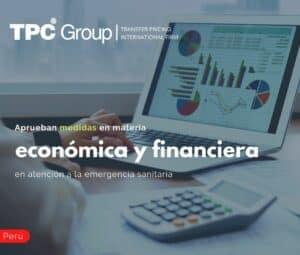 Aprueban medidas en materia económica y financiera en atención a la emergencia sanitaria